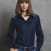 Ladies' Workwear Oxford Long Sleeve Shirt