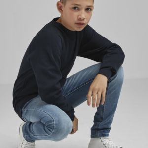 Kid's Raglan Sleeve Crew Neck Sweatshirt Thumbnail