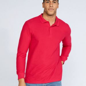 Gildan Premium Cotton L/Sleeve Polo Thumbnail